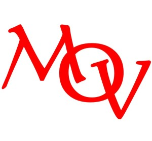 MOV Letters Red